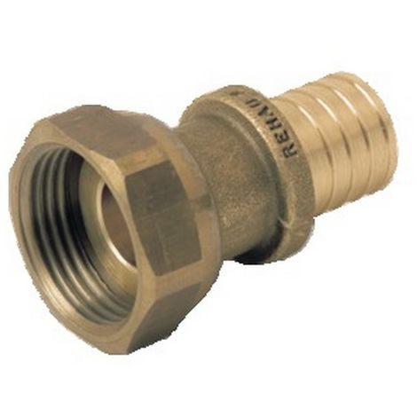 Rehau 137753-001 - Prisoner nut Connection Out female 20x1,9-G1/2 brass