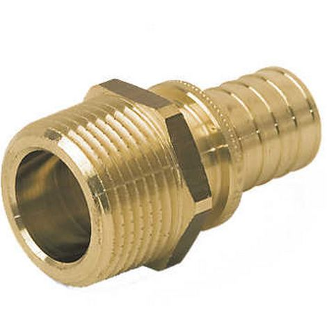 "Rehau 138643-001 - connection straight male 12-1/2"" M"