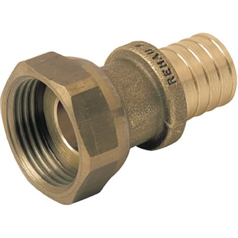 Rehau 169087-001 - Prisoner nut Connection SDR 11 LX diameter 12 15x21 female brass