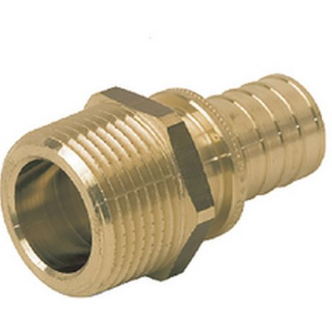 "Rehau 288874-001 - connection straight male 16 - 3/8"" thread cylindrical"