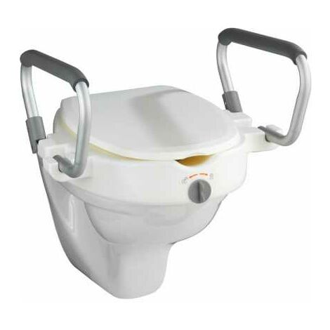 Audacieuse Rehausse d'abattant WC mit poignées d'appui Secura WENKO - 20924100 VR-44