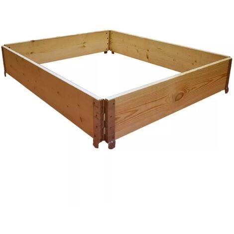 Réhausse de palette en bois naturel 1200x1000mm