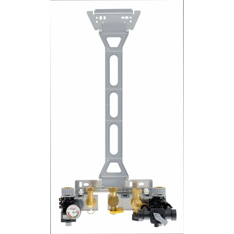 Réhausse pour dosseret de montage 80 mm Saunier Duval Chaffoteaux Celtic ELM Leblanc colis HG104