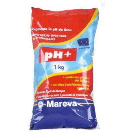 Rehausseur de pH MAREVA poudre ecodose ph Plus pour piscine - 1Kg - 020021U