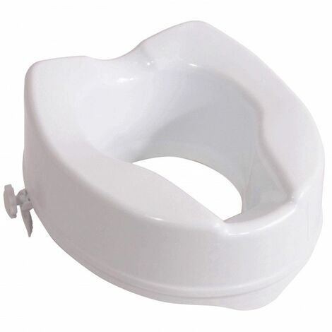 rehausseur de wc ibiza standard 15 cm 31 cm blanc. Black Bedroom Furniture Sets. Home Design Ideas