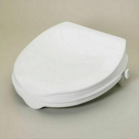 Rehausseur WC avec couvercle - NA - Blanc