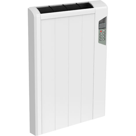 Reina Arlec Aluminium White Horizontal Designer Radiator Electric Only 565mm x 414mm