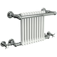 Reina Camden Wall Mounted Traditional Heated Towel Rails 508mm x 770mm