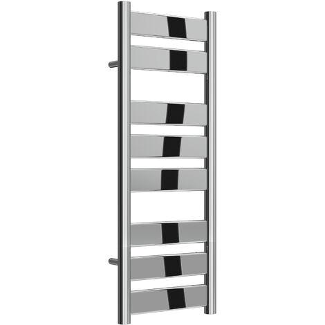 Reina Carpi Steel Chrome Designer Heated Towel Rail 800mm x 300mm Electric Only - Standard