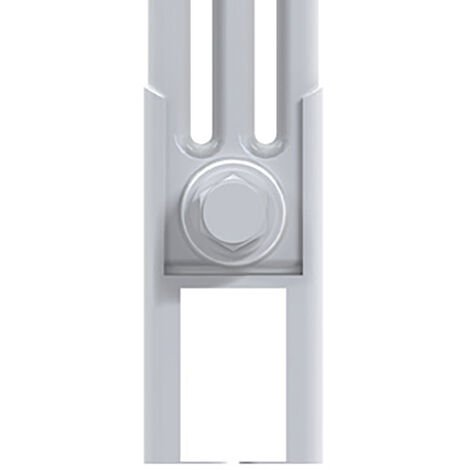 Reina Colona White Column Radiator Feet - 3 Column