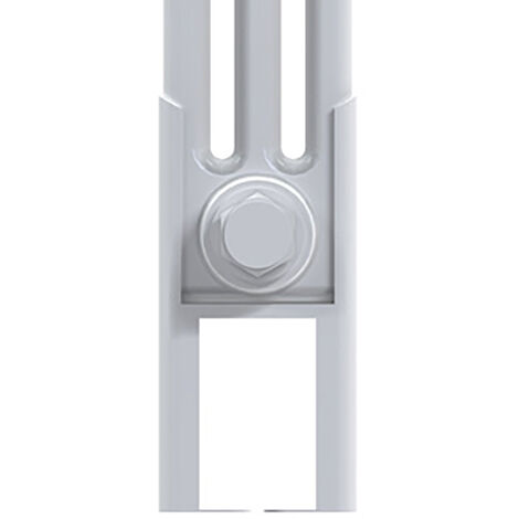 Reina Colona White Column Radiator Feet - 4 Column