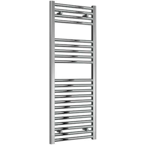 Reina Diva Electric Straight Heated Towel Rail 1200mm H x 450mm W Chrome