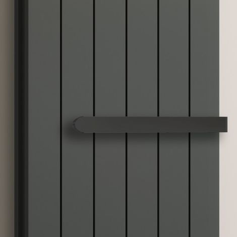 Reina Neval Stainless Steel Double Towel Bar Anthracite 300mm