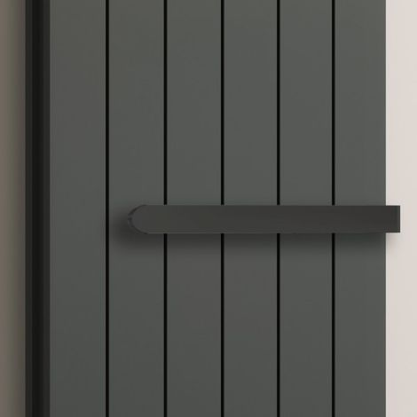 Reina Single Towel Bar Anthracite 450mm