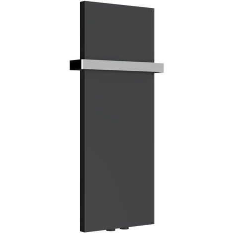 Reina Slimline Steel Anthracite Vertical Designer Radiator 770mm x 300mm