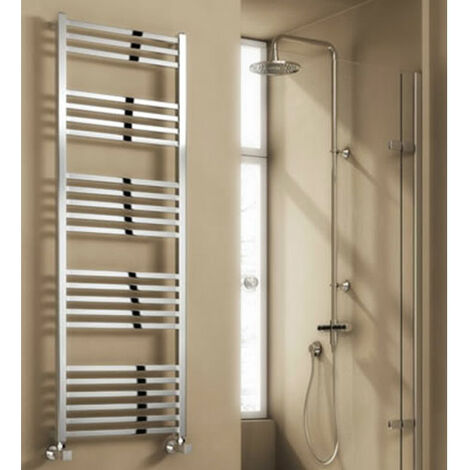 Reina Vasto Heated Towel Rail 1460mm H x 500mm W Chrome