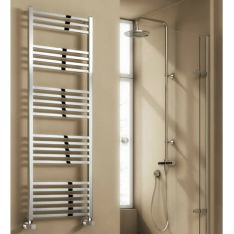 Reina Vasto Heated Towel Rail 1460mm H x 500mm W Chrome