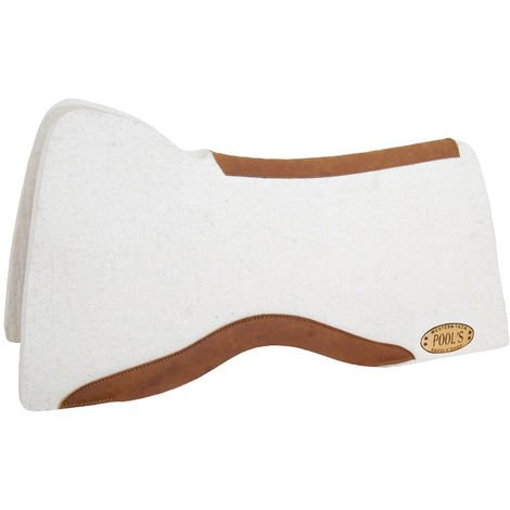 Reiner Square model saddle in wool felt thickness 1 Pools