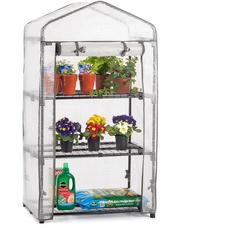 Reinforced 3 Tier Mini Greenhouse