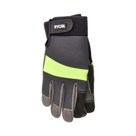 Reinforced and tactile RYOBI gardening gloves L RAC811L