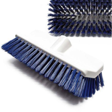 Reinigungsbürste BiLevel Bürste hart blau aus PBT Faser für grobe Oberflächen