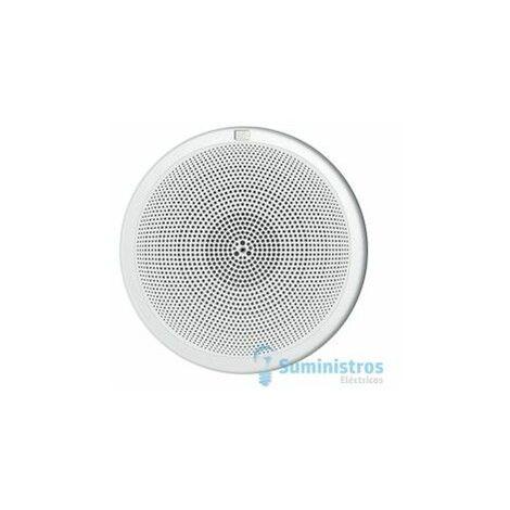 Rejilla circular de plastico 5 para altavoces EGI 0602.10 blanco