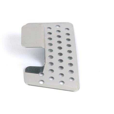 Rejilla de acero Inoxidable para urinarios. Acabado en cromo brillo Kibath
