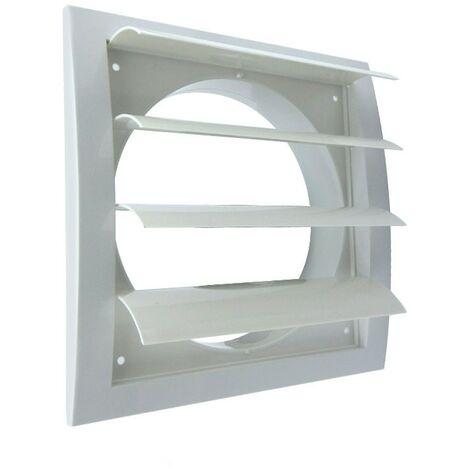 Rejilla de plástico blanca serie QS -Disponible en varias versiones