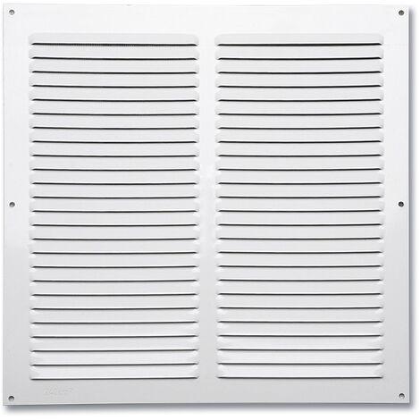 """main image of """"Rejilla de ventilación plana 200x200 mm Blanca - Blanco"""""""