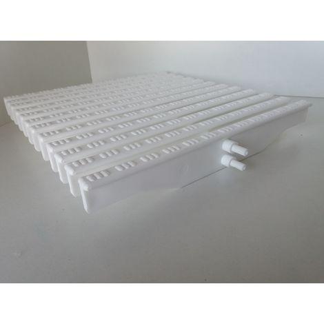 Rejilla rebosadero piscina H22xA245mm 48Uds equivale a 1 mt lineal