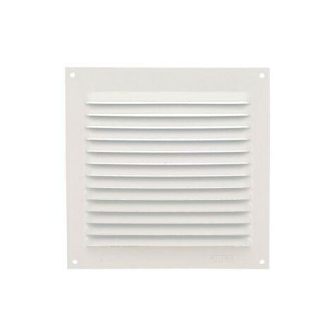 Rejilla ventilacion 15x15 aluminio blanco
