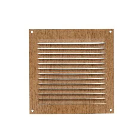 Rejilla ventilacion 15x15 aluminio haya