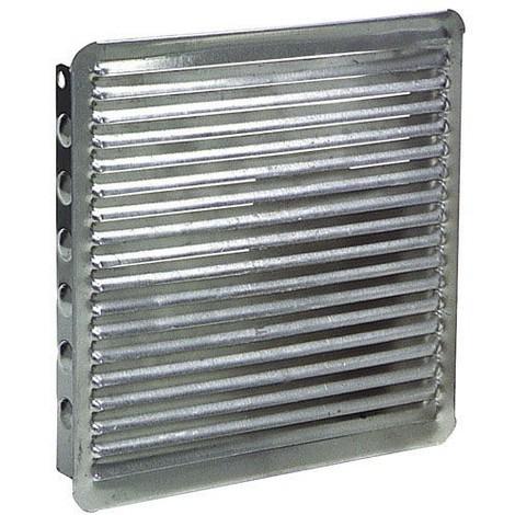 Rejilla Ventilacion Empotrar 17x17 cm. Aluminio - NEOFERR..