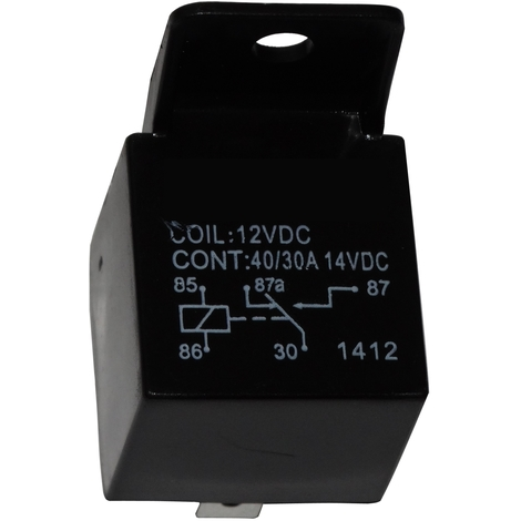 Relai SPDT 12V 40A/30A 5 pin broches électromagnétique