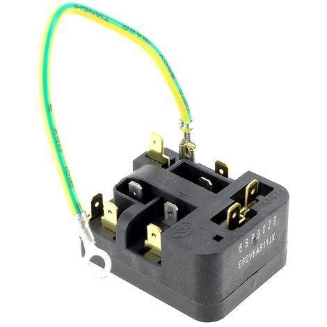 Relais 6sp9029 + klixon 181nfbyy pour Refrigerateur Faure, Congelateur Faure, Refrigerateur Electrolux, Congelateur Electrolux, Refrigerateur Zanussi,