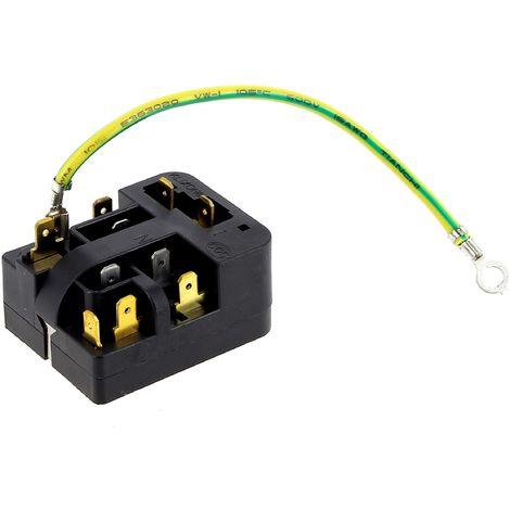 Relais 6sp9066 + klixon 158lfbyy pour Congelateur Electrolux