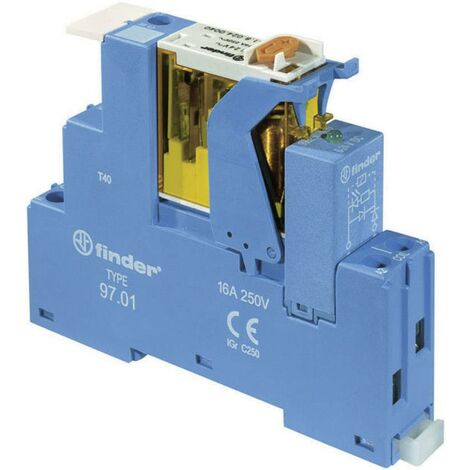 Relais de couplage série 4C avec connexion par borne à vis S72904