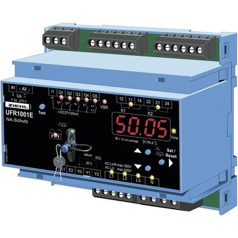 Relais de tension et de fréquence Ziehl UFR1001E S222296.CO Nombre de sorties relais: 2 Nombre dentrées analogiques: 1
