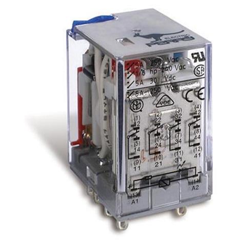 Relais industriel 4 contacts de commutation 5A 24V CC - Perry