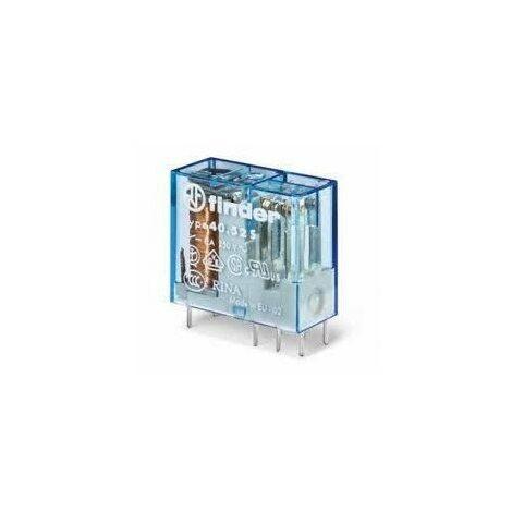 Relais miniature 40.52 pour circuit imprimé - 24V - 2 contacts - Série 40 - 8A - Pas de 5 mm