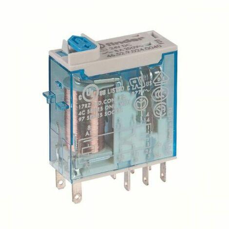 Relais miniatures industriels cosses Faston 2RT 8A - Série 46 Finder