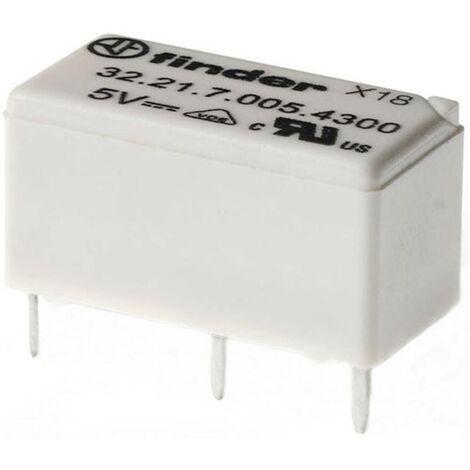 Relais pour circuits imprimés Finder 322170124000 12 V/DC 6 A 1 inverseur (RT) 1 pc(s)