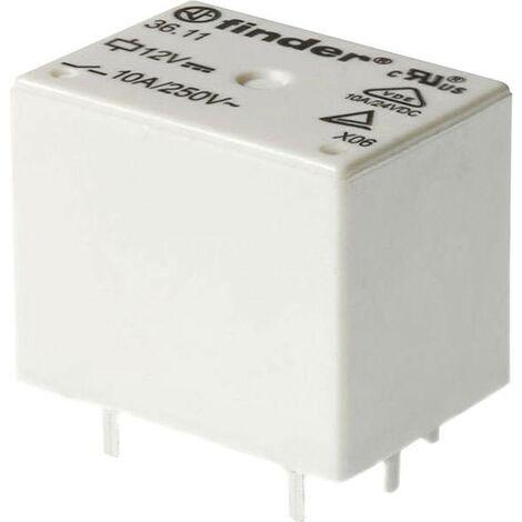 Relais pour circuits imprimés Finder 36.11.9.024.4011 36.11.9.024.4011 24 V/DC 10 A 1 inverseur (RT) 1 pc(s)