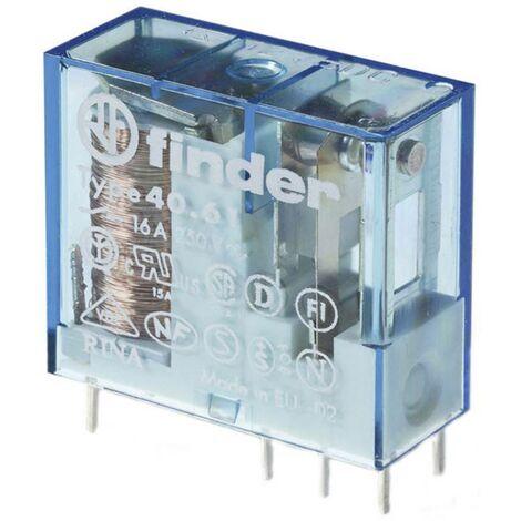 Relais pour circuits imprimés Finder 40.61.7.024.0000 40.61.7.024.0000 24 V/DC 16 A 1 inverseur (RT) 1 pc(s)