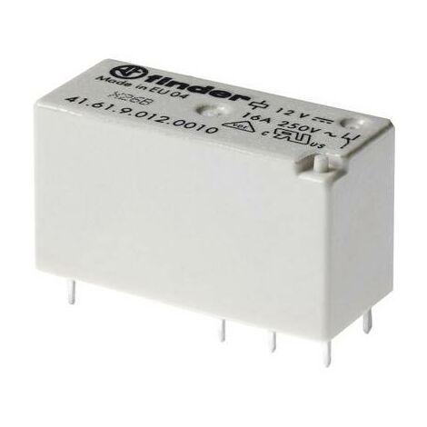 Relais pour circuits imprimés Finder 41.52.9.012.0010 12 V/DC 8 A 2 inverseurs (RT) 1 pc(s)