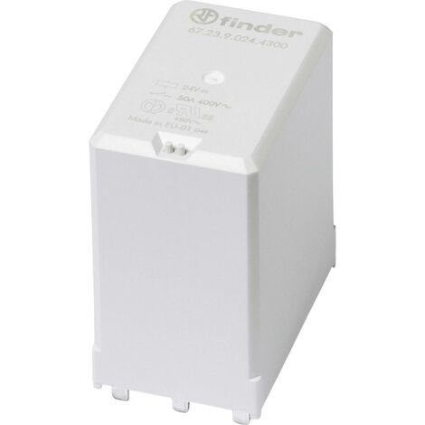 Relais pour circuits imprimés Finder 67.23.9.005.4300 67.23.9.005.4300-1 5 V/DC 50 A 3 NO (T) 1 pc(s) A948651