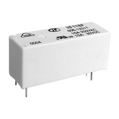 Relais pour circuits imprimés Hongfa HF118F/005-1ZS1(136) HF118F/005-1ZS1(136) 5 V/DC 8 A 1 inverseur (RT) 1 pc(s)