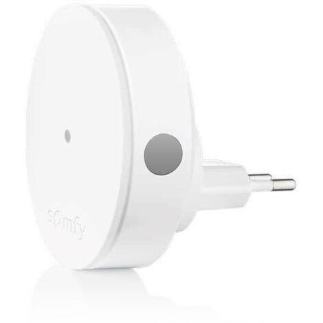 Relais radio Somfy , augmente la portée radio pour alarme Somfy Protect - 2401495 - Blanc