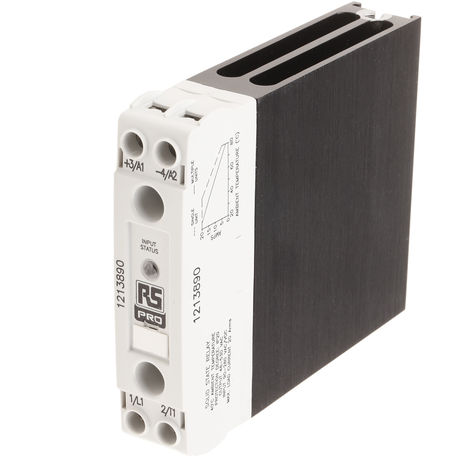 Relais statique, Rail DIN 20 A 530 Vrms