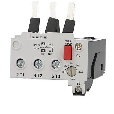 Relais thermique pour contacteur IMO MC32 à MC40, réglable de 14 à 20A